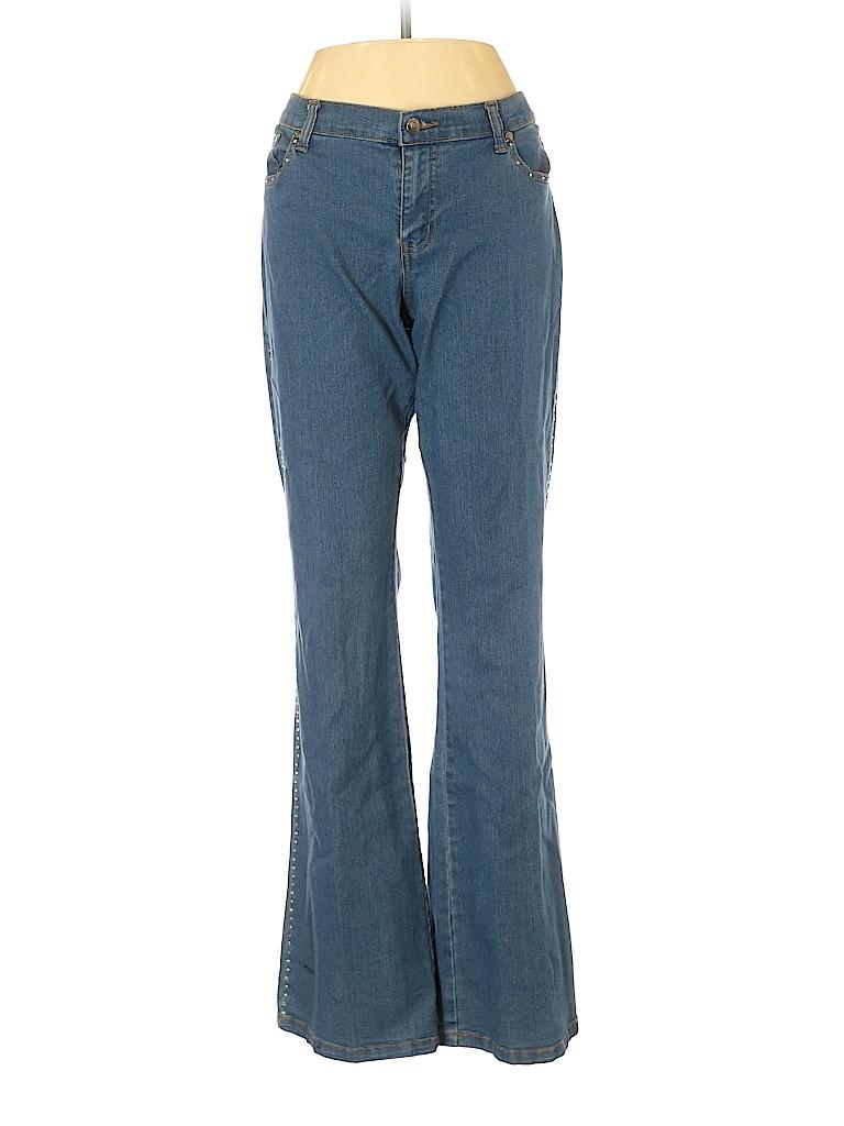 Get Lucky U.S.A. Women Jeans Size 10