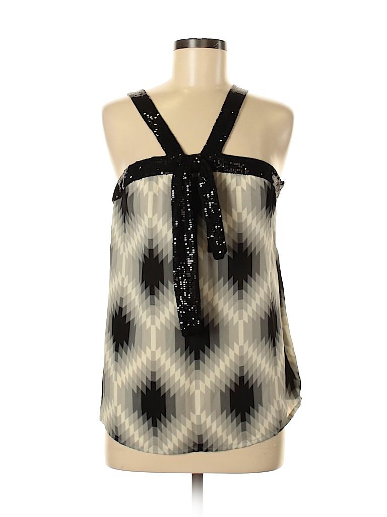Tory Burch Women Sleeveless Silk Top Size 6