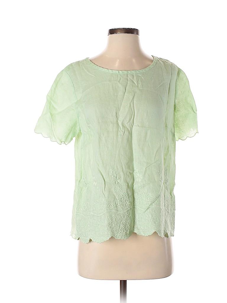 J. Crew Factory Store Women Short Sleeve Blouse Size 8