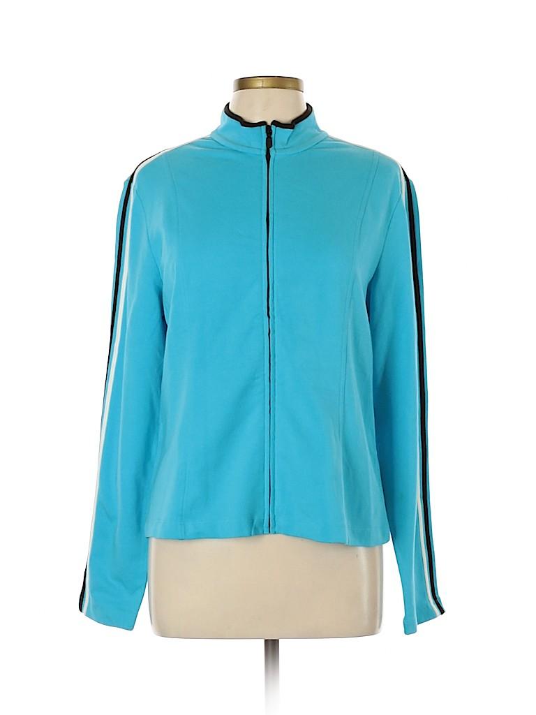 Geoffrey Beene Sport Women Track Jacket Size XL