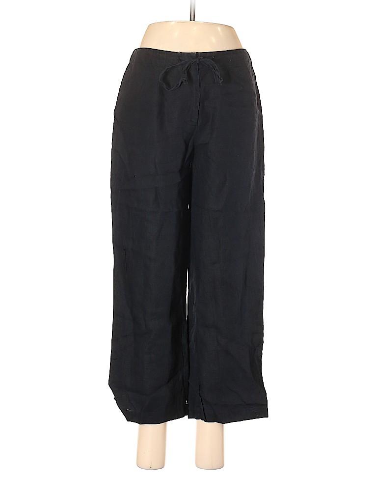 J. Khaki Women Linen Pants Size 6