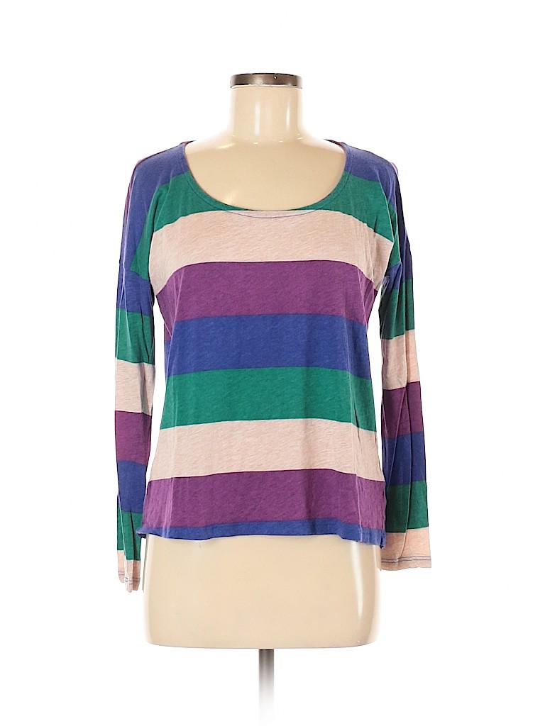 Splendid Women Long Sleeve T-Shirt Size M