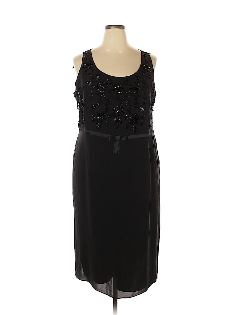 Marina Rinaldi Women Cocktail Dress Size 18 (27) (Plus)