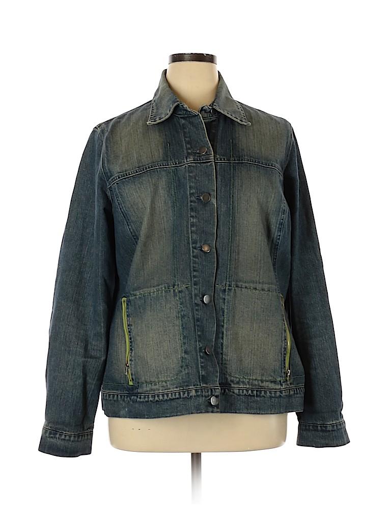 Persona by Marina Rinaldi Women Denim Jacket Size 16 (25)