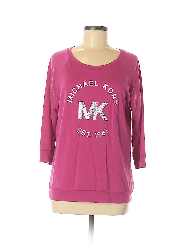 MICHAEL Michael Kors Women Sweatshirt Size M