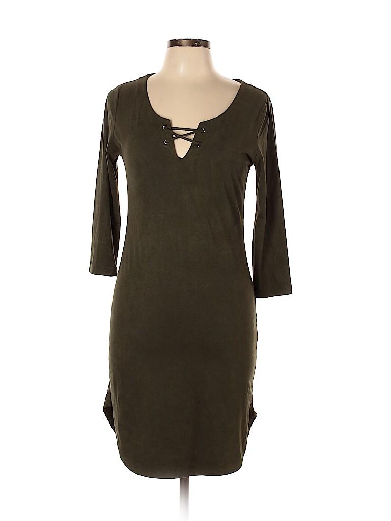 Heart Hips Women Casual Dress Size L