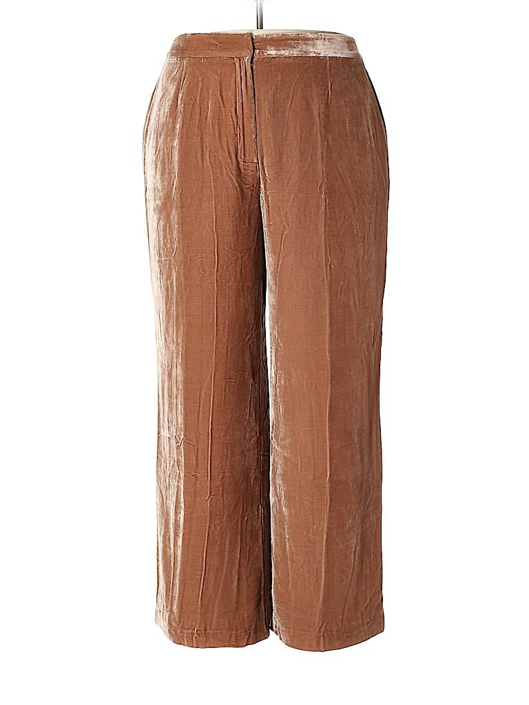 The Look by Randolph Duke Women Velour Pants Size 22W (Plus)