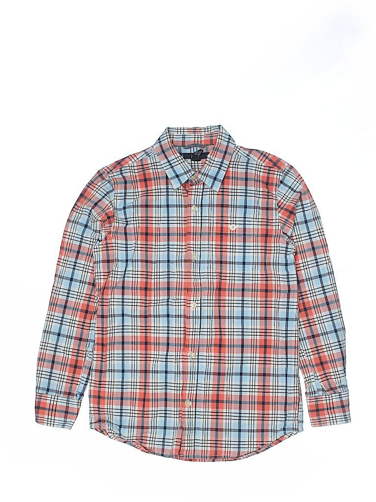 Gap Kids Outlet Boys Long Sleeve Button-Down Shirt Size L (Kids)