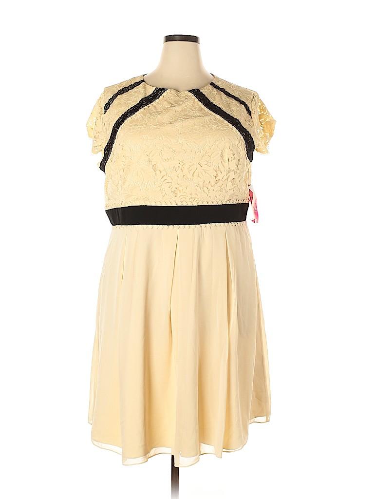 Little Mistress Women Cocktail Dress Size 20 (Plus)