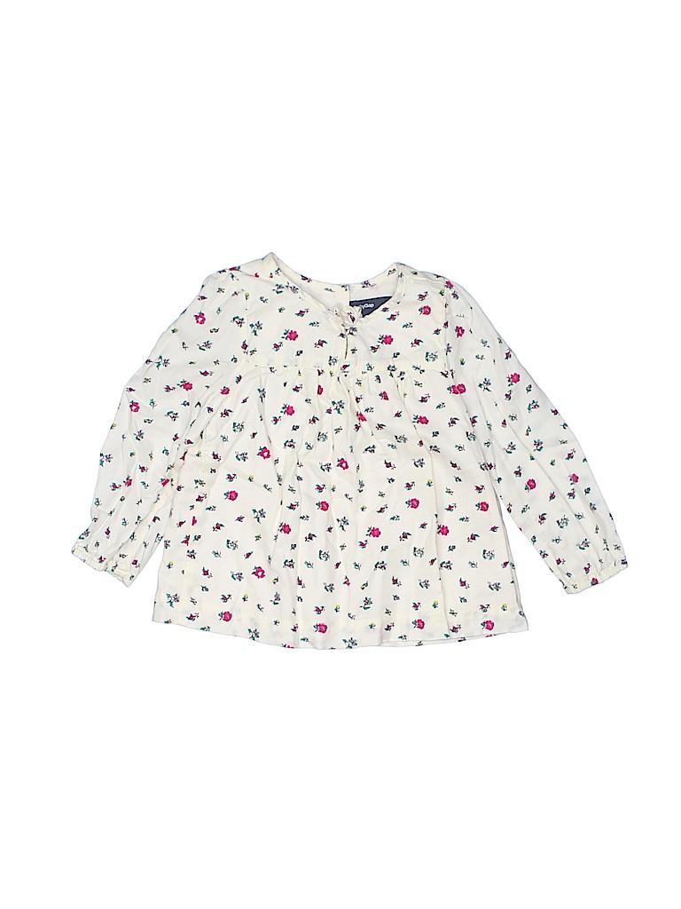 Baby Gap Girls Long Sleeve Blouse Size 12-18 mo