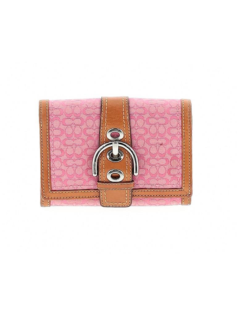 Coach Women Wallet One Size