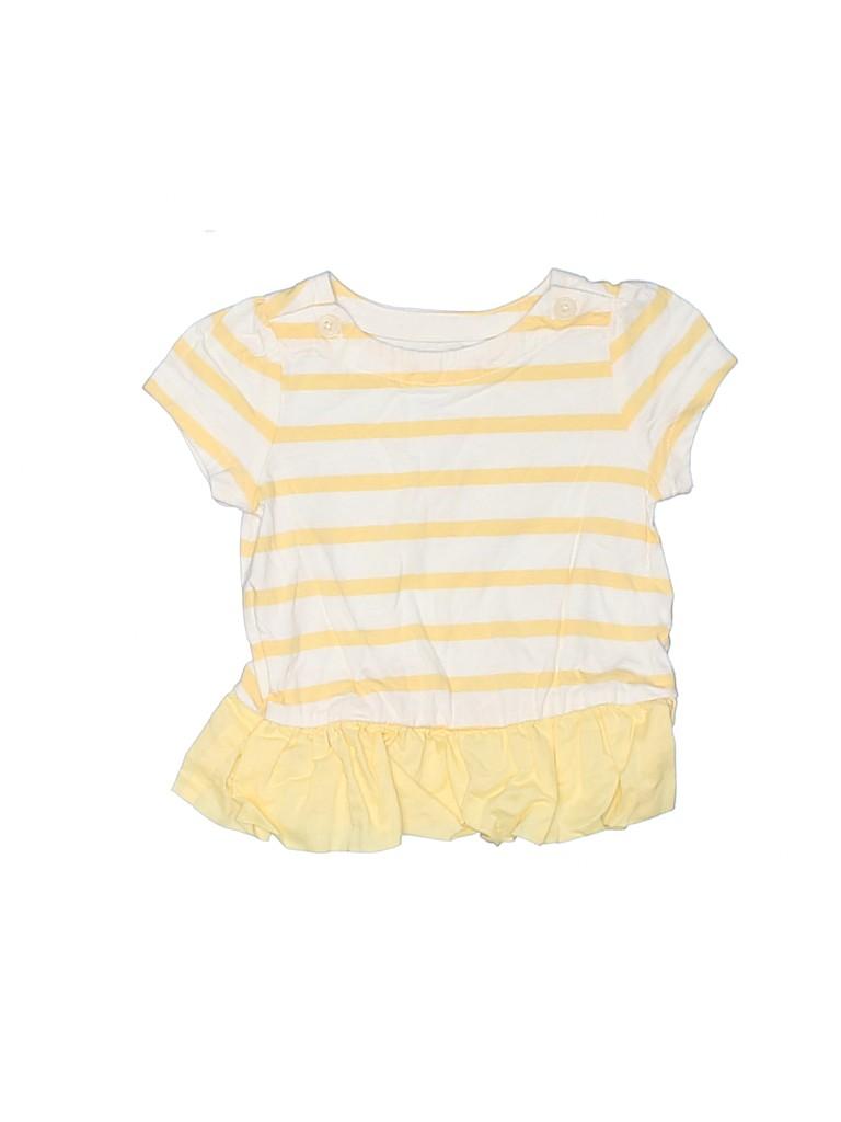 Baby Gap Girls Short Sleeve Top Size 3-6 mo
