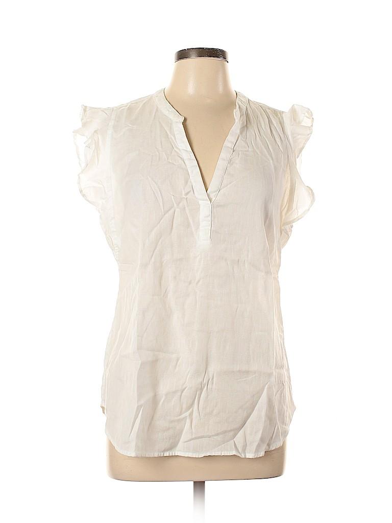 Old Navy Women Short Sleeve Blouse Size L