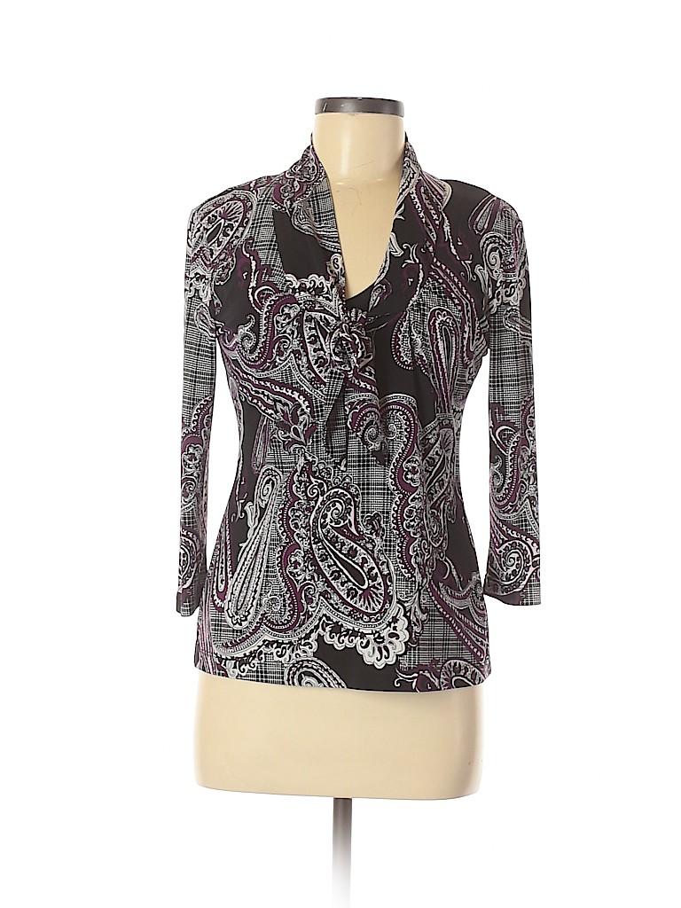Jules & Leopold Women 3/4 Sleeve Top Size M
