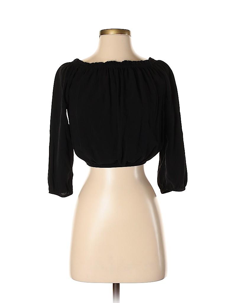 Brandy Melville Women Long Sleeve Blouse One Size