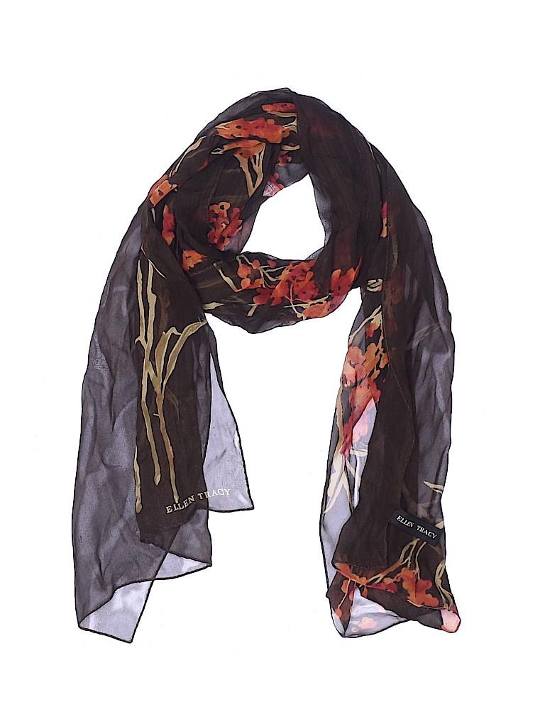 Ellen Tracy Women Silk Scarf One Size