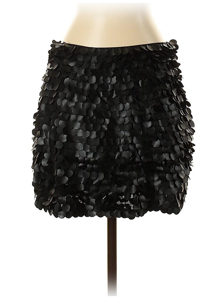 Zara Women Faux Leather Skirt Size XS