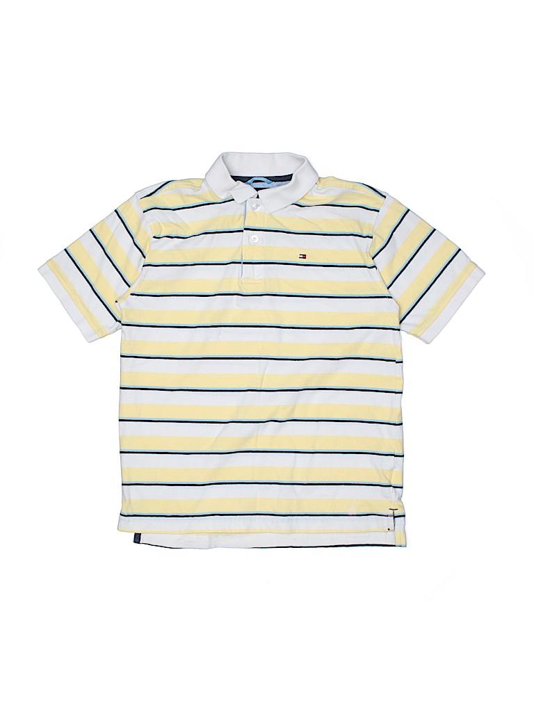 Tommy Hilfiger Boys Short Sleeve Polo Size 12 - 14