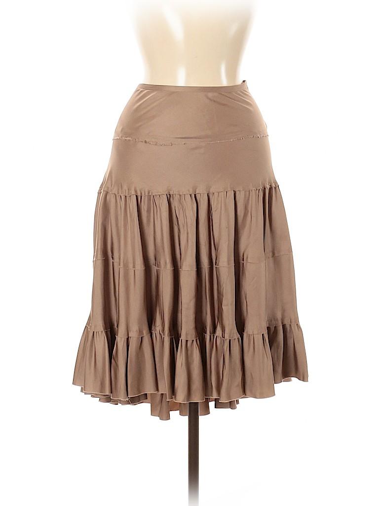 Vince. Women Silk Skirt Size 6