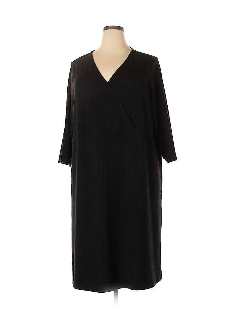 Lands' End Women Casual Dress Size 3X (Plus)