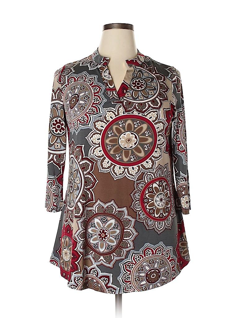 Assorted Brands Women 3/4 Sleeve Top Size XL
