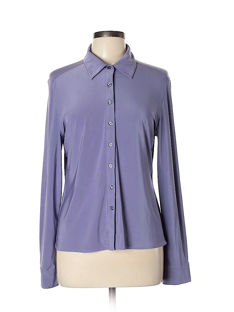 Fashion Bug Women Long Sleeve Blouse Size L
