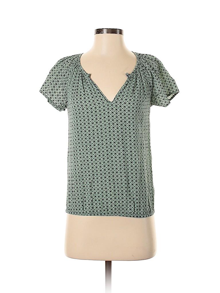 Banana Republic Factory Store Women Short Sleeve Blouse Size XXS