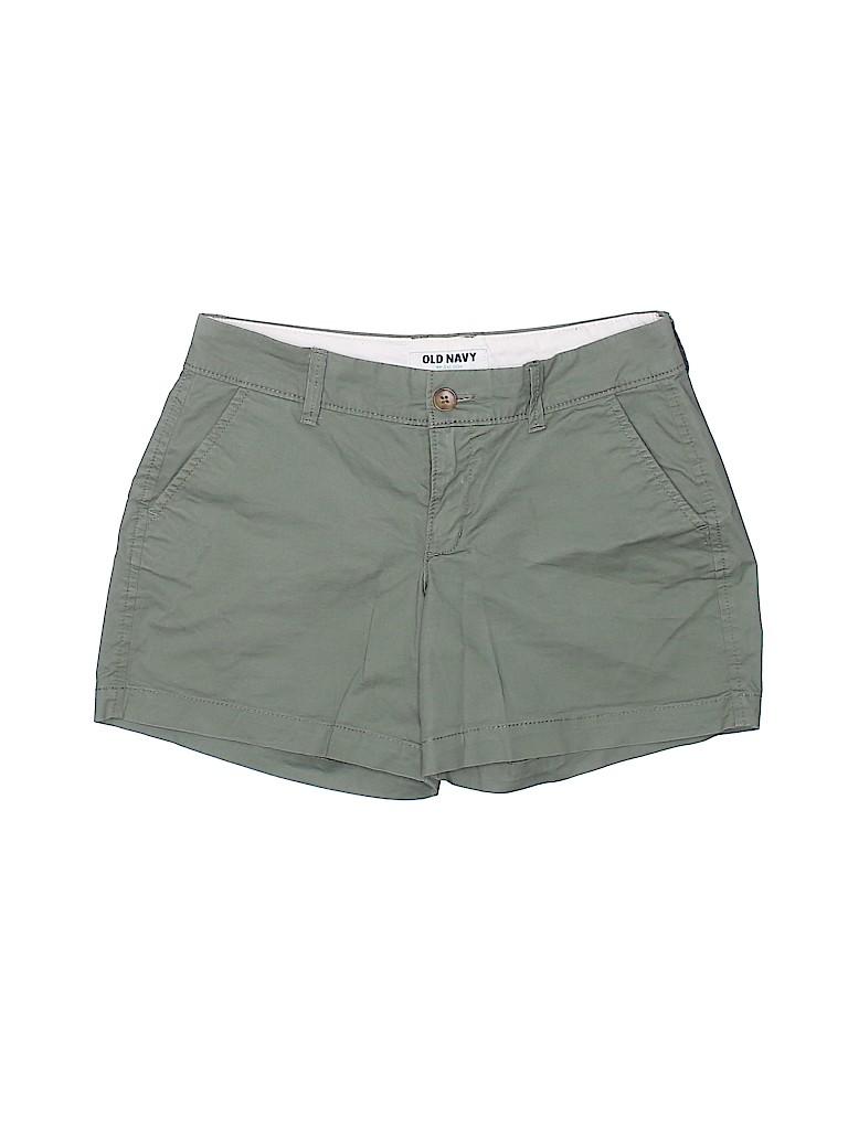 Talbots Women Khaki Shorts Size 0