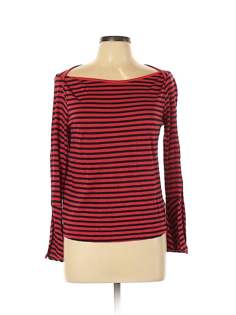 Splendid Women Long Sleeve Blouse Size L