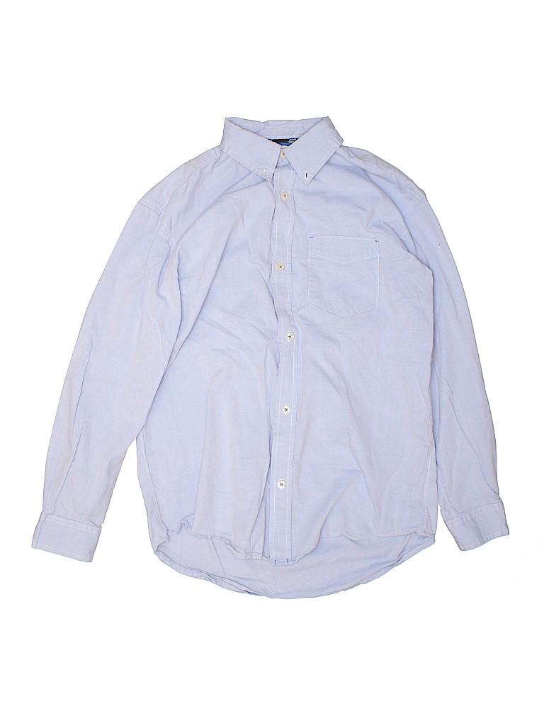 Gap Kids Boys Long Sleeve Button-Down Shirt Size X-Large (Kids)