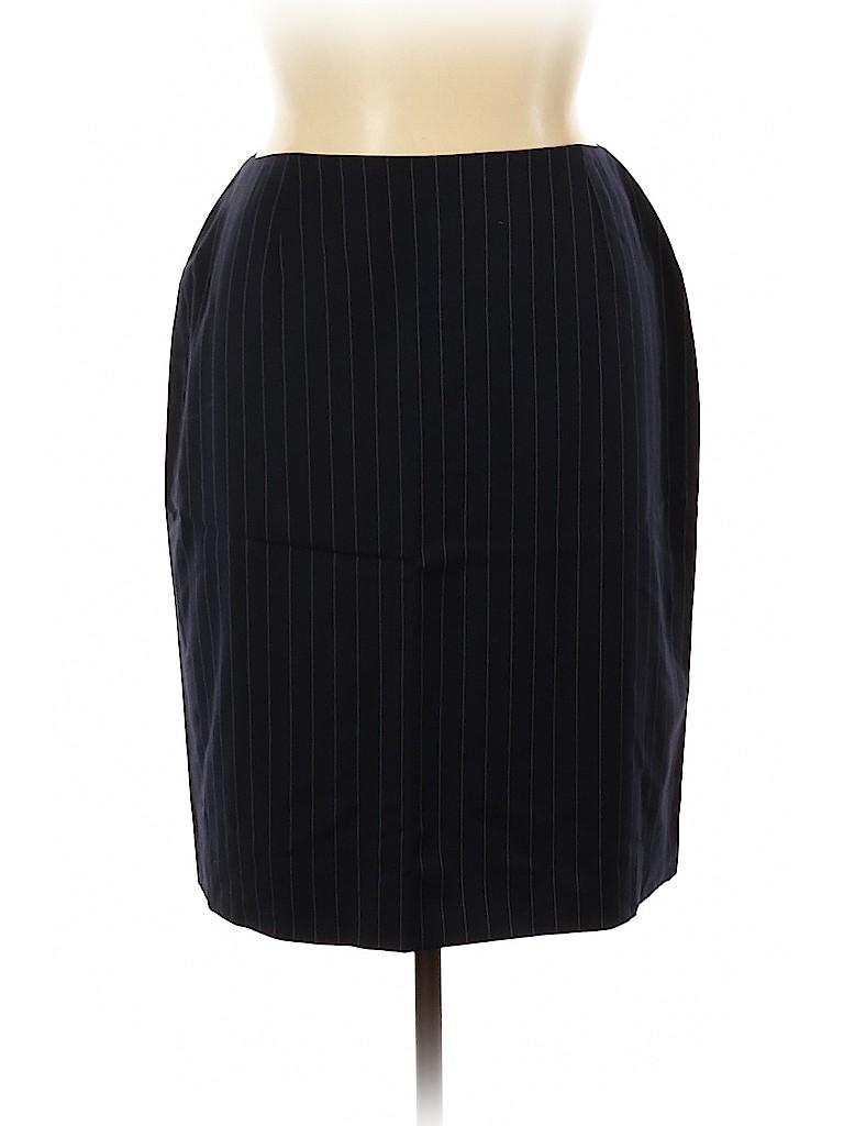 Brooks Brothers Women Wool Skirt Size 16