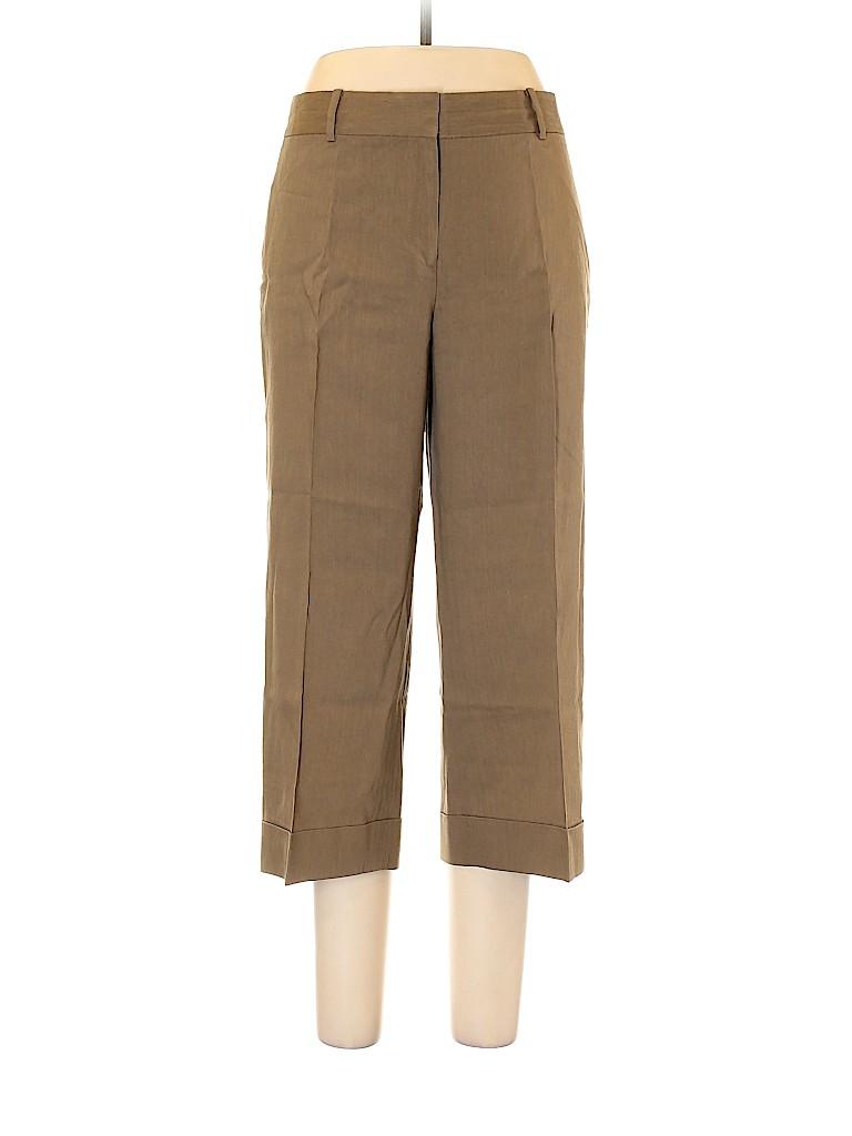 Classiques Entier Women Linen Pants Size 12