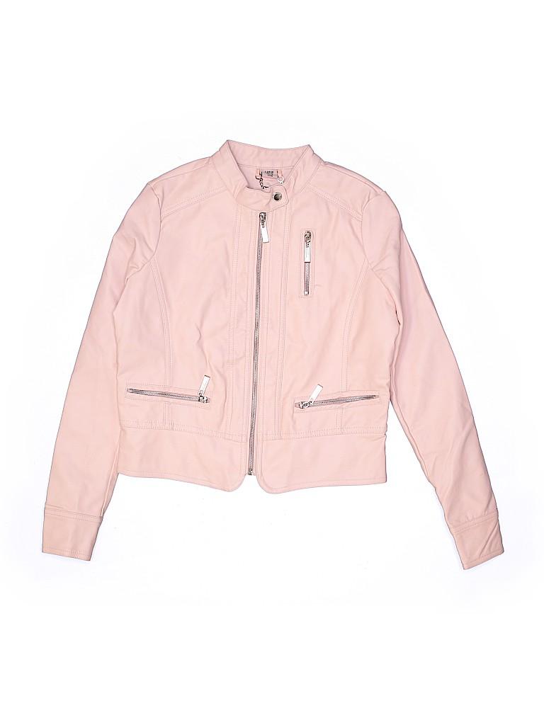 JouJou Girls Faux Leather Jacket Size 14 - 16