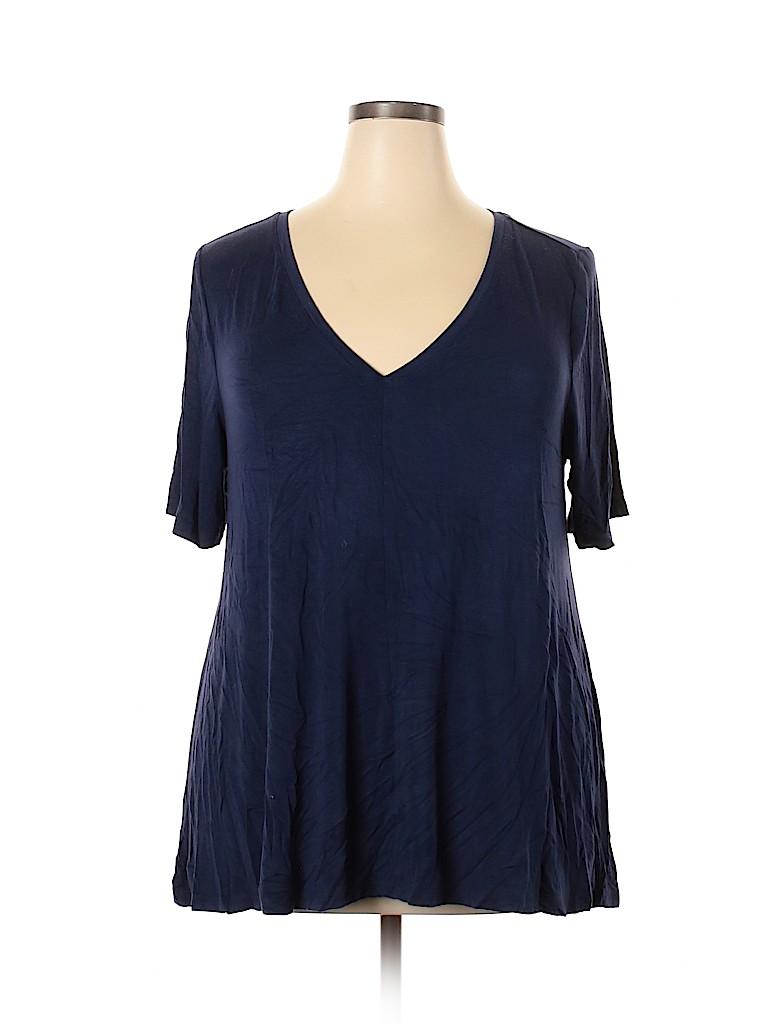 Lane Bryant Women Short Sleeve T-Shirt Size 18 - 20 Plus (Plus)