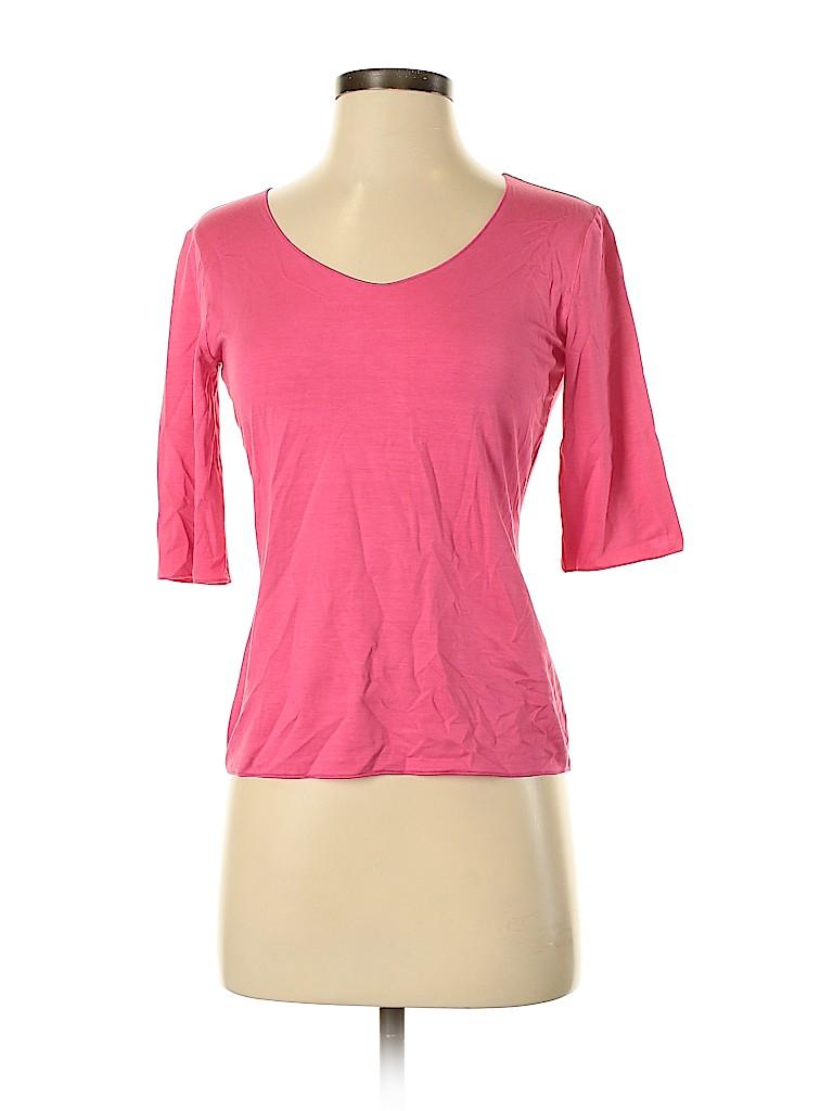 Armani Collezioni Women Short Sleeve Top Size 44 (IT)