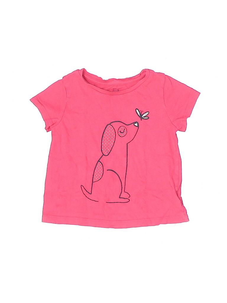 Baby Gap Girls Short Sleeve T-Shirt Size 2T