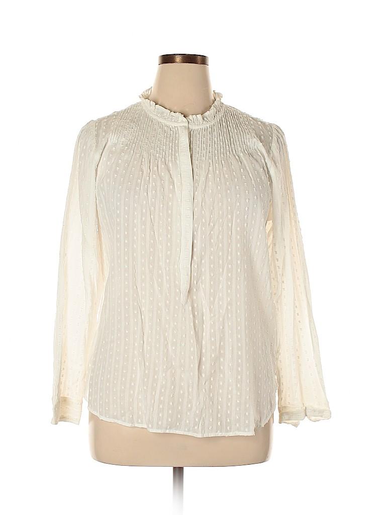 Point Sur Women 3/4 Sleeve Blouse Size 14
