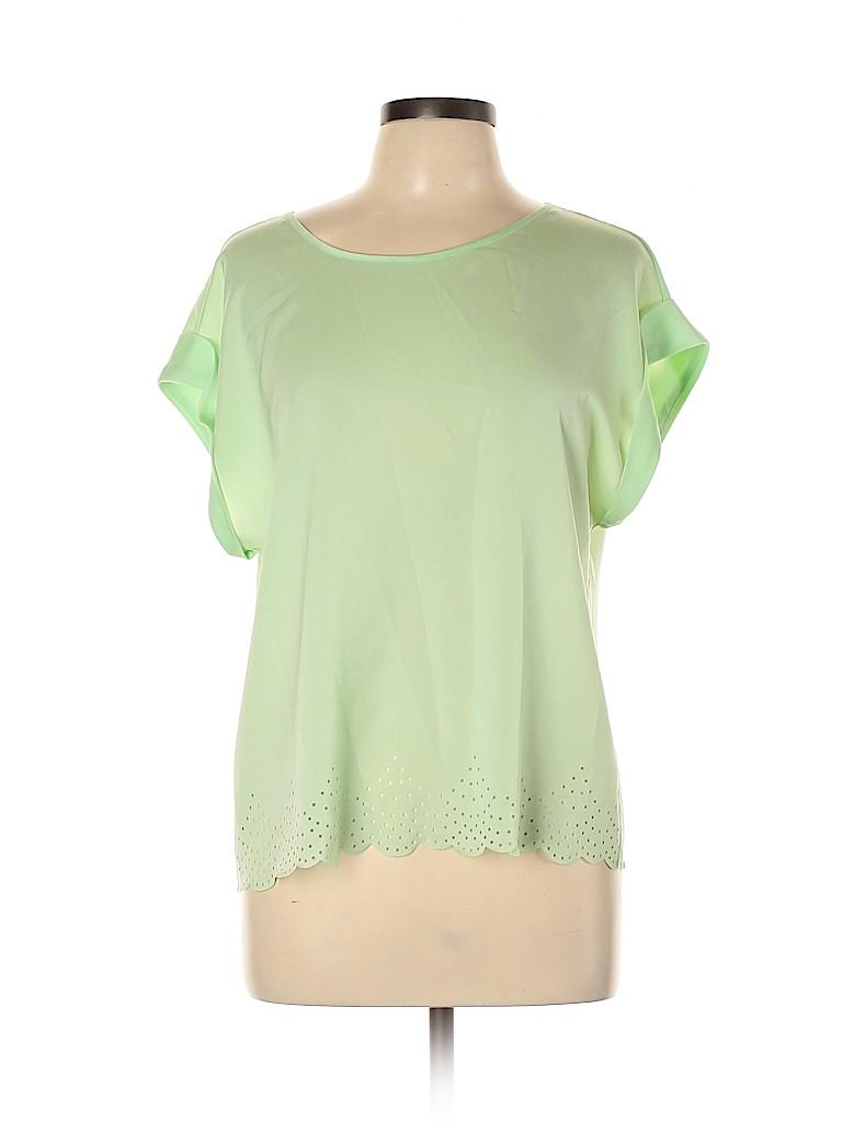 J. Crew Factory Store Women Short Sleeve Blouse Size 10