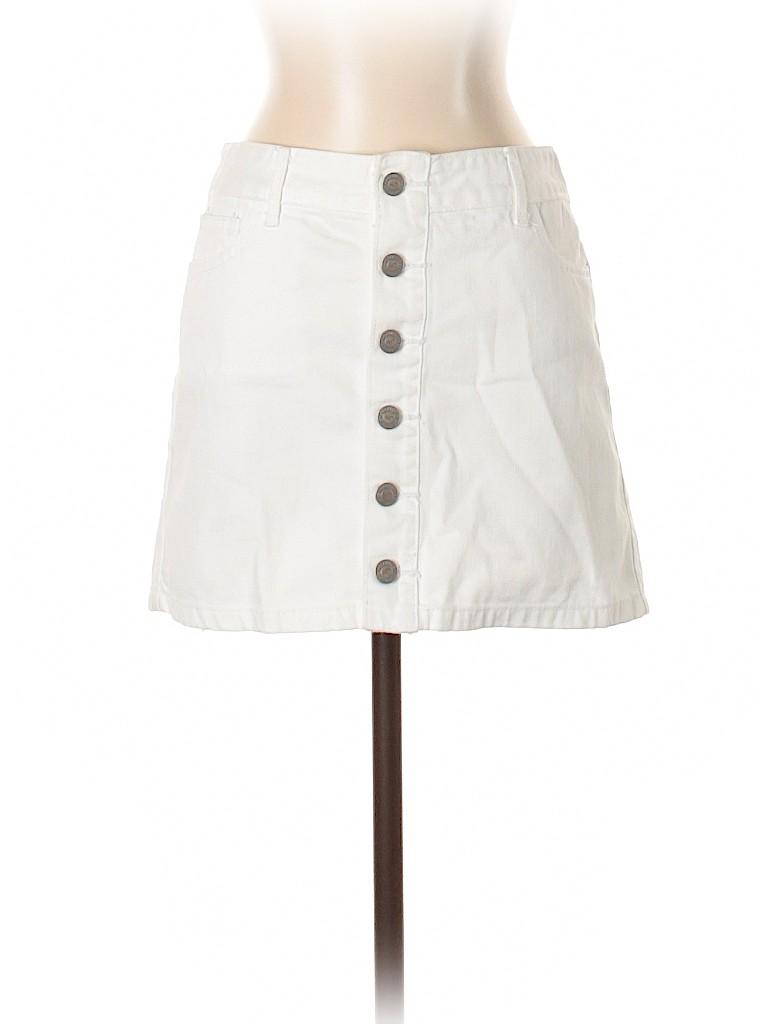 Hollister Women Denim Skirt Size 3