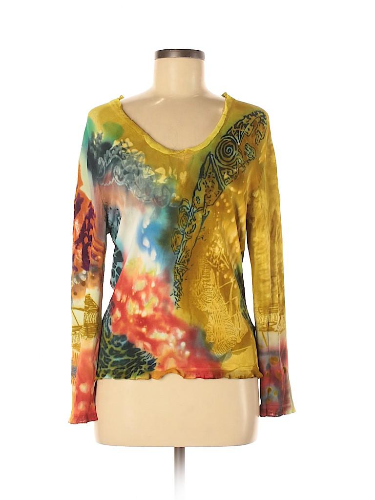 Jessica Ash Women Pullover Sweater Size M