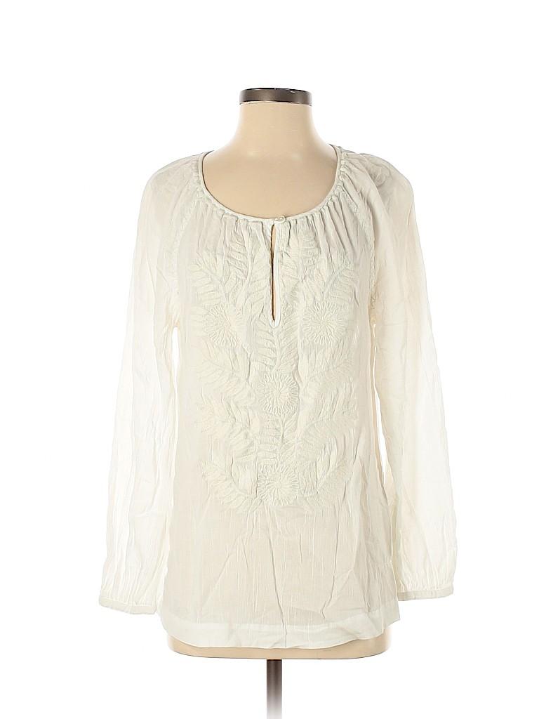Tory Burch Women Long Sleeve Blouse Size S