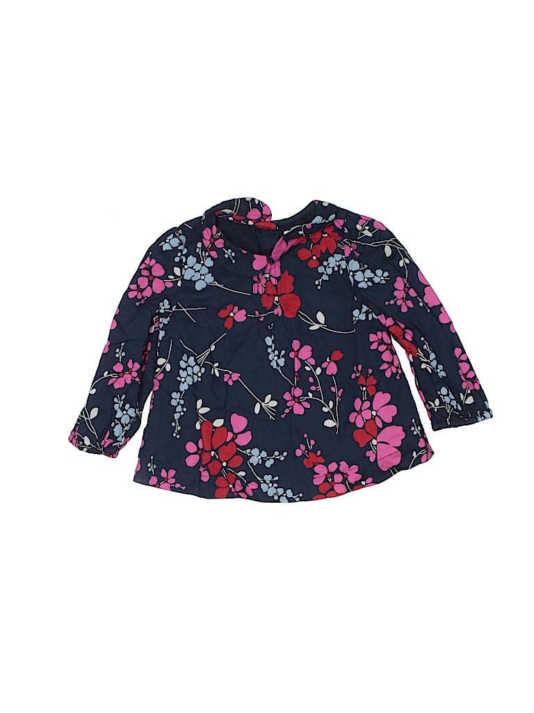 Baby Gap Girls 3/4 Sleeve Blouse Size 12-18 mo