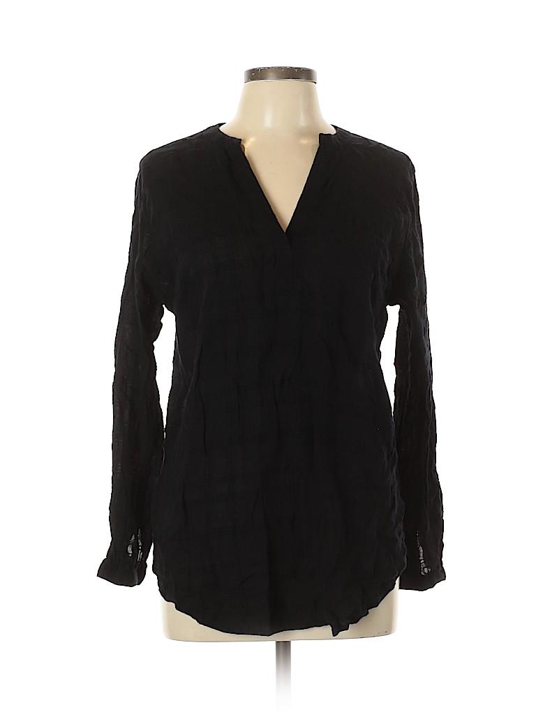 Old Navy Women Long Sleeve Blouse Size L