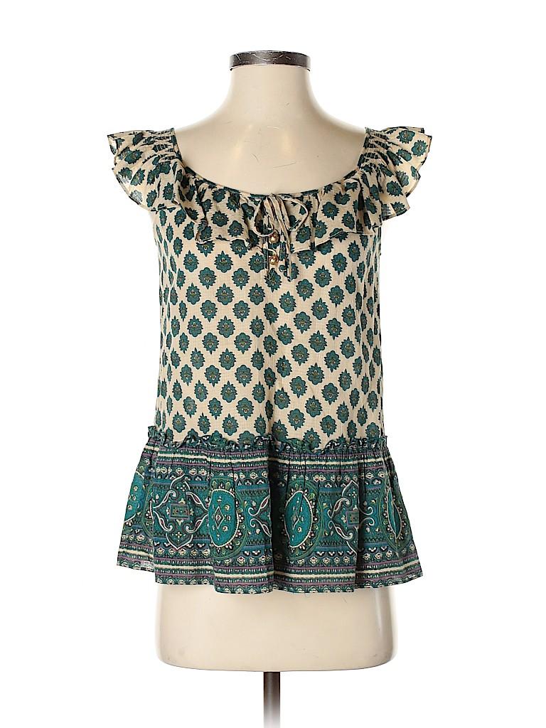 Juicy Couture Women Short Sleeve Blouse Size 2