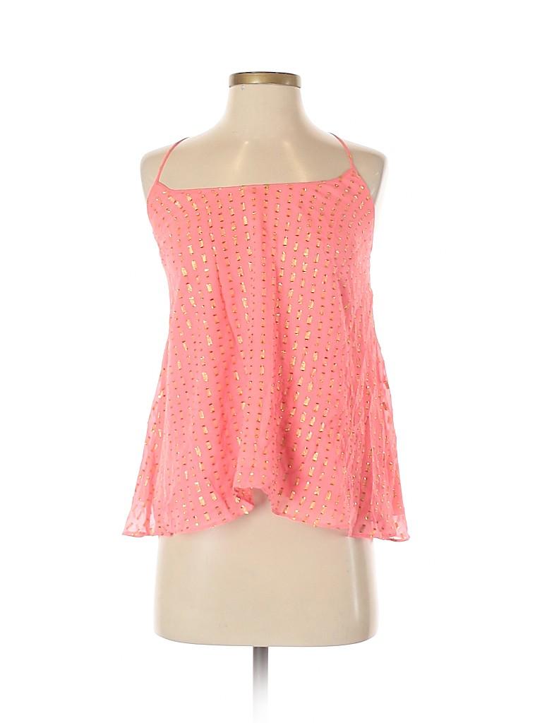 Lilly Pulitzer Women Sleeveless Silk Top Size S