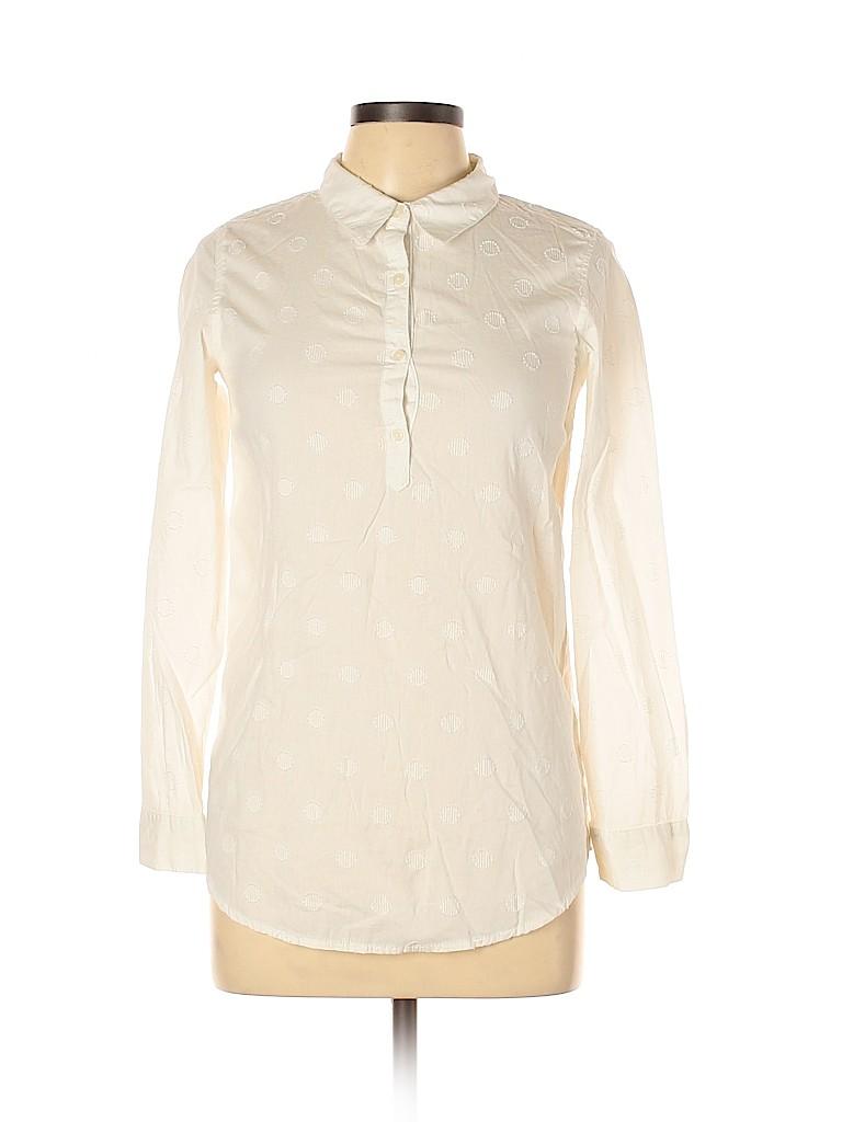 Cherokee Women Long Sleeve Button-Down Shirt Size XL