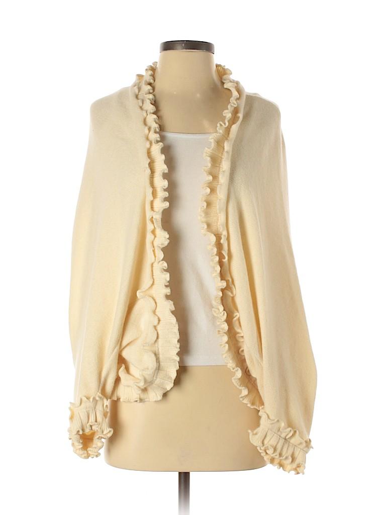 Luca Luca Women Wool Cardigan Size S