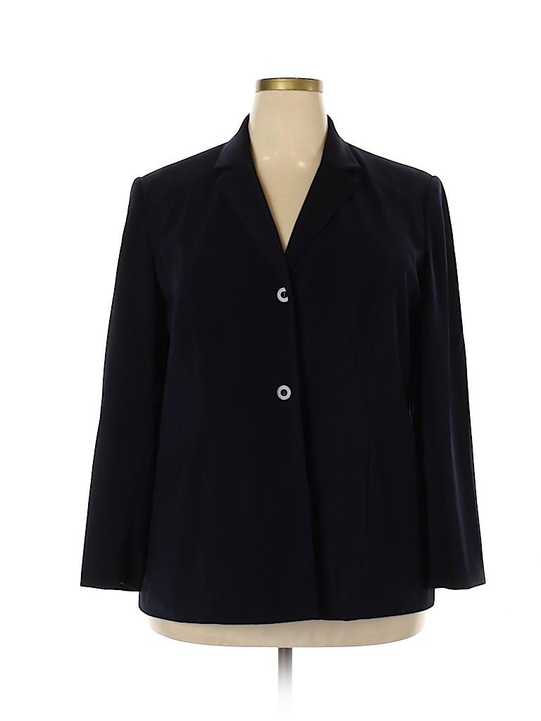 Worthington Women Blazer Size 18 (Plus)