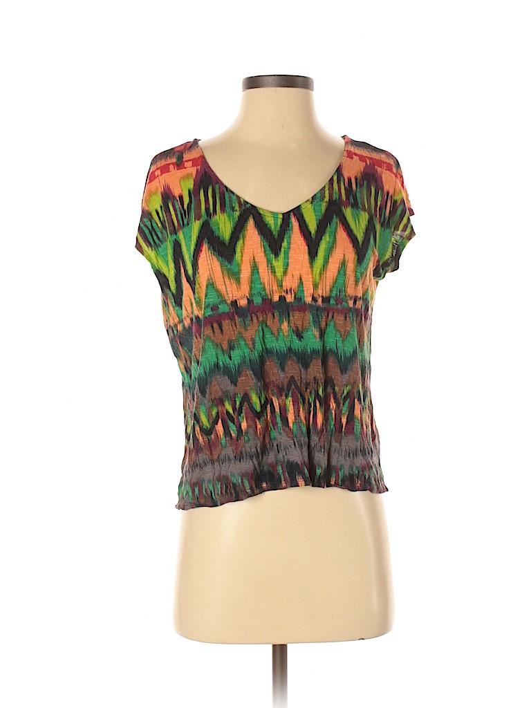 Ella Moss Women Short Sleeve Top Size S