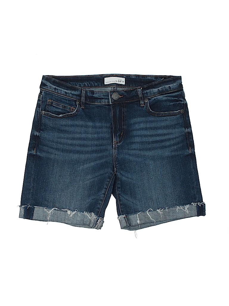 Ann Taylor LOFT Women Denim Shorts 26 Waist